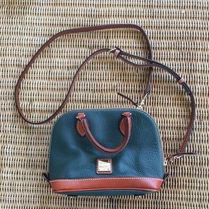 Dooney & Bourke Bitsy zip zip pebble grain satchel